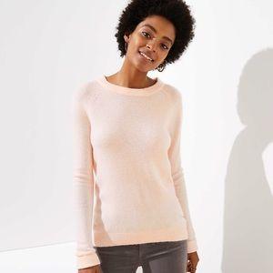 LOFT Bar Back Petite Sweater